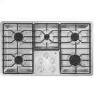 """36"""" Built-In Gas Deep Recessed Stainless Steel Cooktop Product Image"""