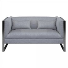 Armen Living Royce Contemporary Loveseat