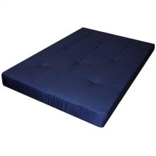 "6"" Blue Futon Pad Mattress"
