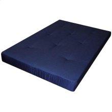"""6"""" Blue Futon Pad Mattress"""