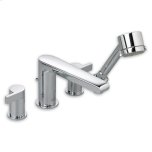 American StandardPolished Chrome Studio Deck-Mount Tub Filler w/ Personal Shower