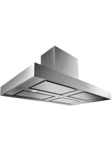 """Island hood AI 400 720 Stainless steel Width 48"""" Air extraction/recirculation"""