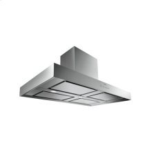 "Island hood AI 400 720 Stainless steel Width 48"" Air extraction/recirculation"