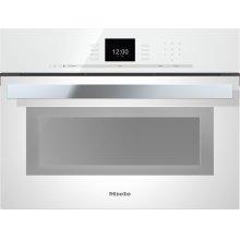 """24"""" DGC 6600 XL PureLine Brilliant White SensorTronic Combi-Steam Oven"""