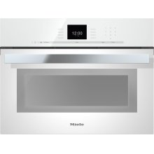 "24"" DGC 6600 XL PureLine Brilliant White SensorTronic Combi-Steam Oven"