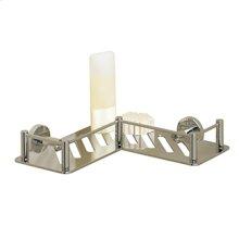 Essentials L-shaped Shower Shelf