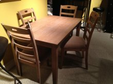 JAQUAR WEATHERED OAK 5 PC DINETTE