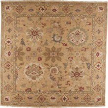 Hard To Find Sizes Nourmak S174 Gold Square Rug 12' X 12'