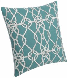 """Luxe Pillows Chain Loop Embroidery (23"""" x 23"""")"""