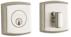 Satin Nickel with Lifetime Finish Soho Deadbolt