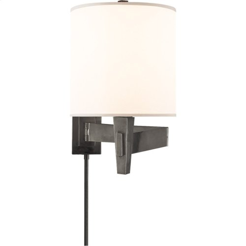 Visual Comfort PT2000BZ-S Studio Architects 22 inch 100 watt Bronze Swing-Arm Wall Light