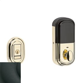 Satin Black Evolved Traditional Deadbolt