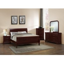 CHERRY LOUIS PHILIPPE NIGHT STAND (BOX# C4937A)