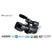 ProHD SHOULDER CAMCORDER (LESS LENS)