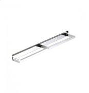 """AS160 - Side by Side Double Towel Bar 24"""" - Polished Chrome"""