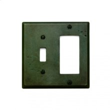 Combination Switch & Decora Cover Silicon Bronze Rust