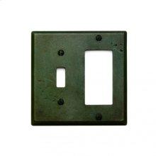 Combination Switch & Decora Cover Silicon Bronze Rust