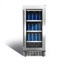 "Piedmont 15"" single zone beverage center. Product Image"
