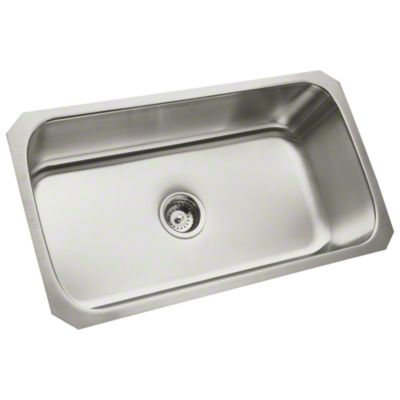 "McAllister® 32"" x 18"" x 9"" Undercounter Single-basin Kitchen Sink"