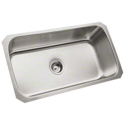 "McAllister® 32"" x 18"" x 9"" Undercounter Single-basin Kitchen Sink"