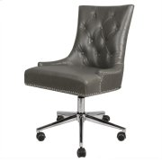Cadence Bonded Leather Office Chair, Vintage Gray Product Image