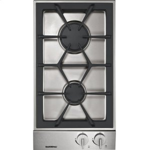 Gaggenau200 series Vario 200 series gas cooktop Stainless steel control panel Width 12 '' Natural gas.