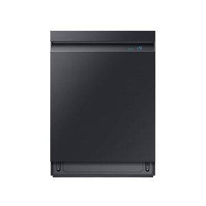 SamsungLinear Wash 39 dBA Dishwasher in Black Stainless Steel