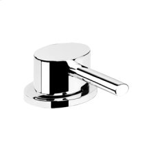 Separate basin control for washbasin spout applications