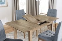 Butterfly Dining Table - Oak Finish Product Image