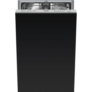 "Smeg45CM (Approx. 18"") Fully-integrated, Panel-Ready Dishwasher, ADA Height Compliant"