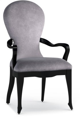 En Pointe Upholstered Arm Chair