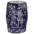 Midnight Kiss Garden Stool - Dark Blue Product Image