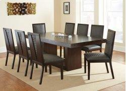 "Antonio Gray Side Chair 21""x25""x40"" Product Image"