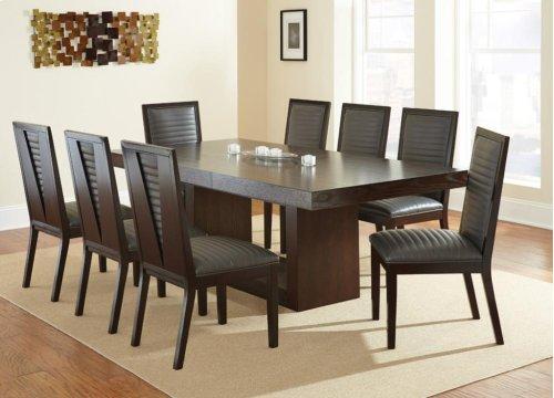 "Antonio Gray Side Chair 21""x25""x40"""
