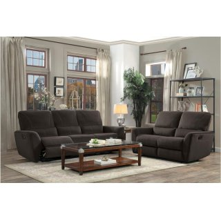 Dowling Reclining Sofa Chocolate