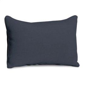 Lumbar Pillow - Midnight Blue Polyester Blend