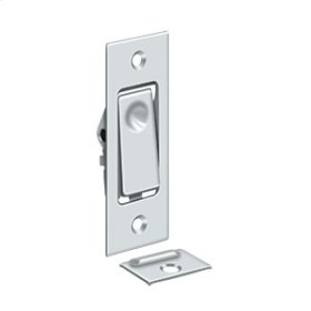 Pocket Door Bolts, Jamb bolt - Polished Chrome