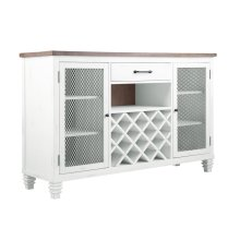 Emerald Home D719-50 Centerville Buffet, Antique White