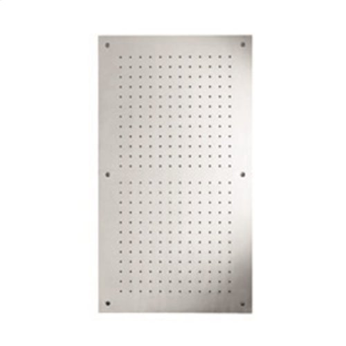 "recessed, rectangular shower head 35 1/2""x19 1/2"""