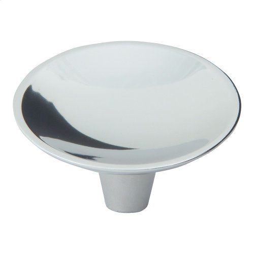 Dap Round Knob 2 Inch - Polished Chrome