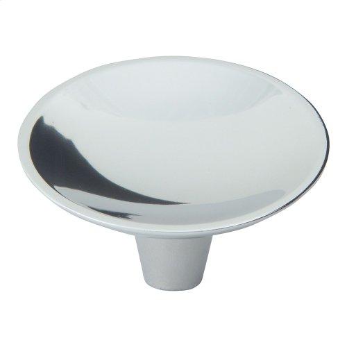 Dap Round Knob 2 Inch - Polished Chrome