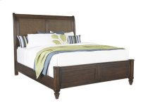 5/0 Queen Panel Bed - Sable Finish