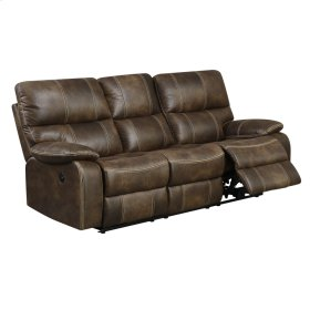 Power Sofa W/usb Power Outlet-brown #js111d-075