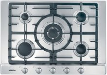 KM 2032 G Gas cooktop with 5 burners for particularly versatile cooking convenience.