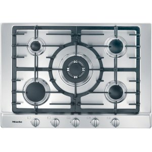 MieleKM 2032 G Gas cooktop with 5 burners for particularly versatile cooking convenience.