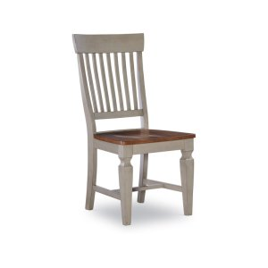 JOHN THOMAS FURNITURESlatback Chair in Hickory & Stone