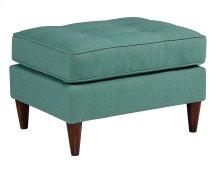 Turquoise MCM Ottoman