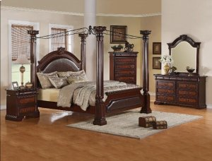 4-Piece Neo Renaissance Queen Bedroom Set