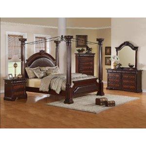 4-Piece Neo Renaissance Queen Bedroom Set