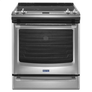 Maytag 30-Inch Wide Electric Range With Convection And Fit System - 6.4 Cu. Ft.